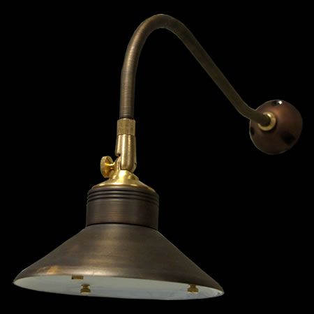 Enterprise 12 Volt Brass Wall Light by Unique Lighting Systems - Yard Illumination Outdoor ...
