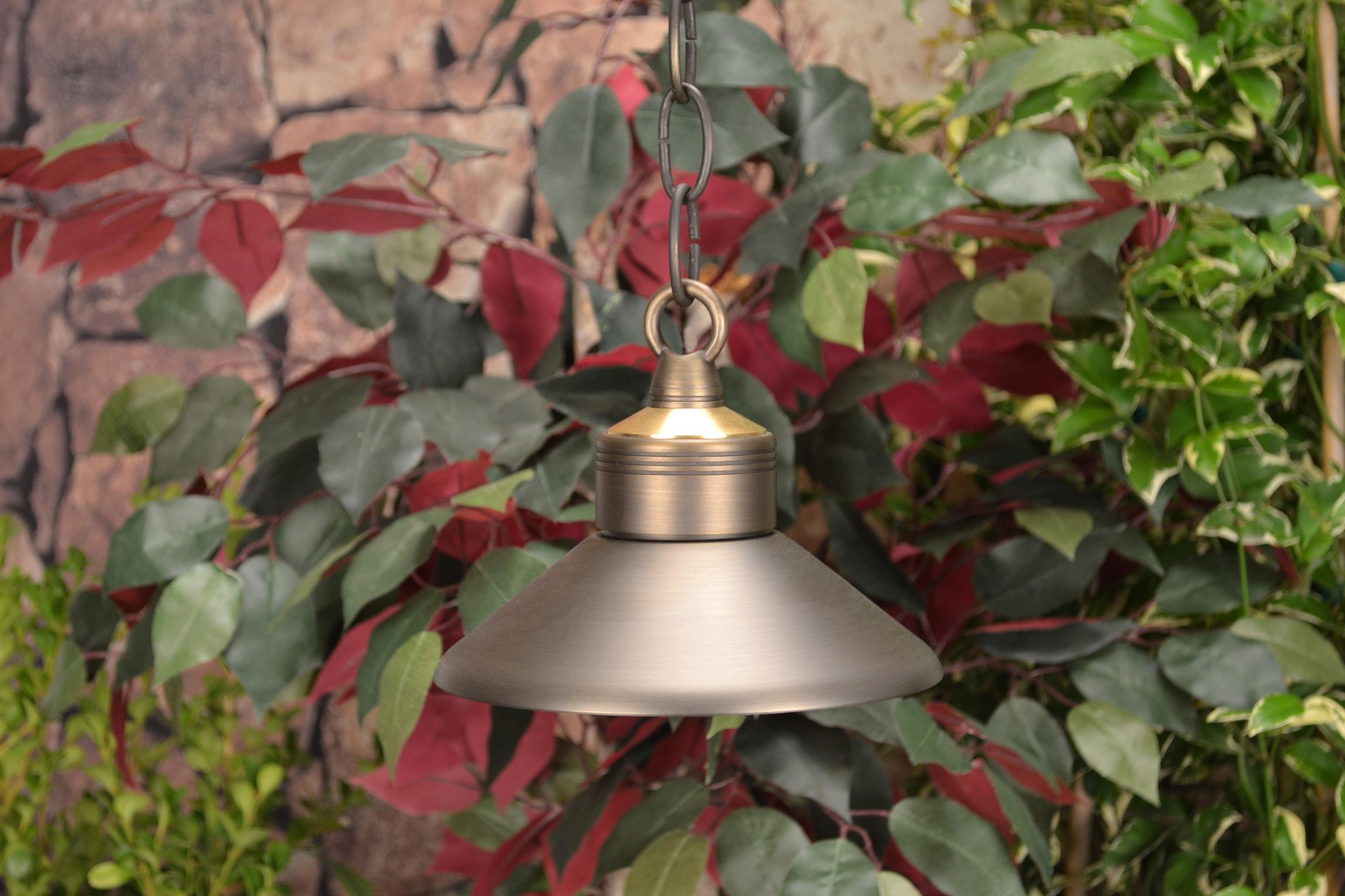 Unique Lighting Systems - Observer 12 Volt Brass Hanging Light ...