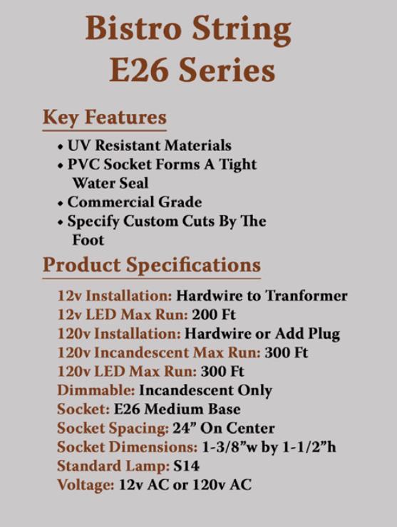 BK-E26-Specs