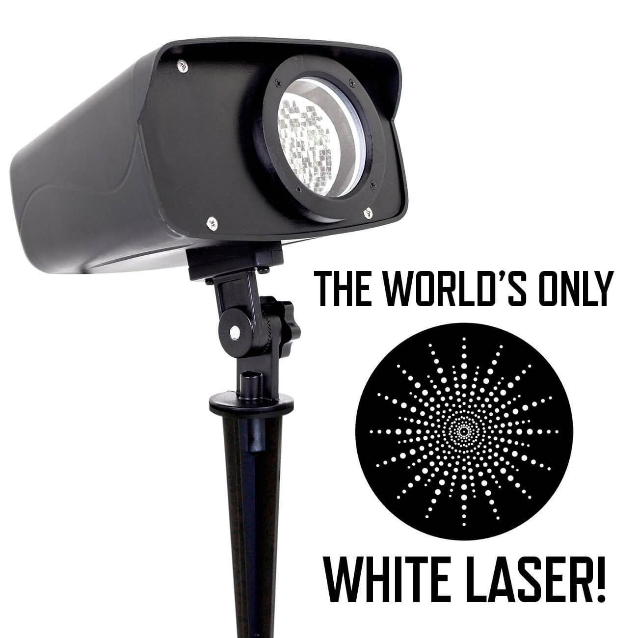 Moving White Laser Yardillumination