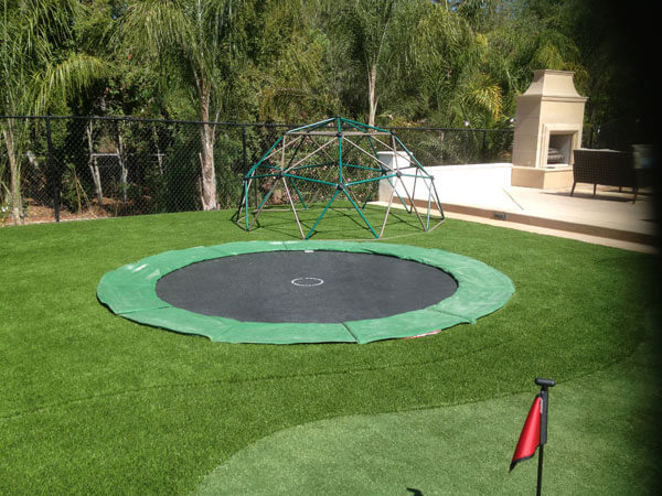 new generation next 15 foot trampoline system in ground trampolines free shipping. Black Bedroom Furniture Sets. Home Design Ideas