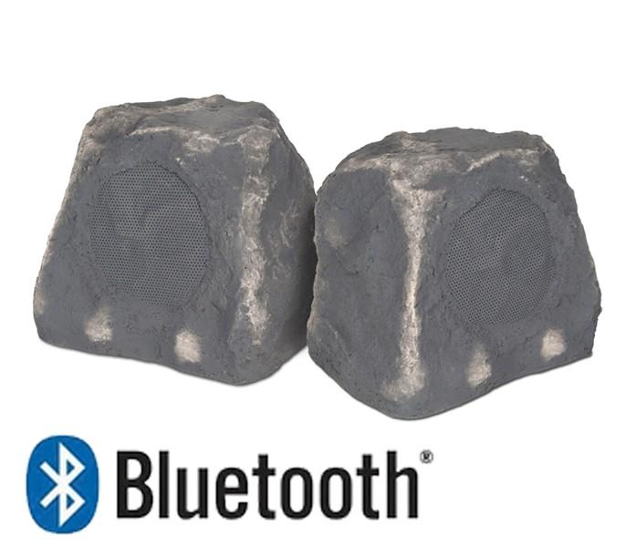 outdoor bluetooth rock speakers. btr-150 wireless bluetooth rock speaker pair outdoor speakers