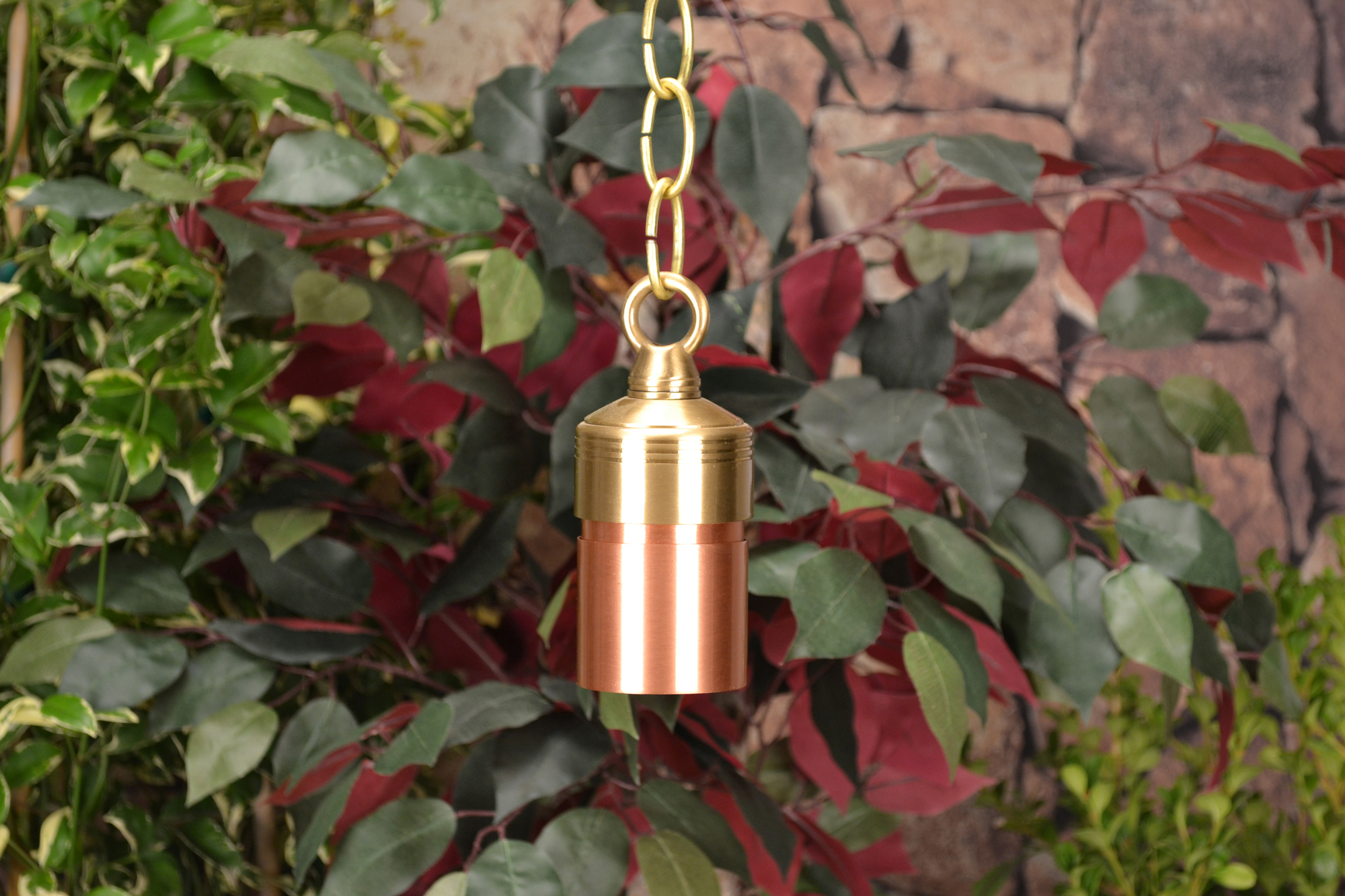Lancaster By Unique Lighting Systems 12 Volt Copper Hanging Niche Light